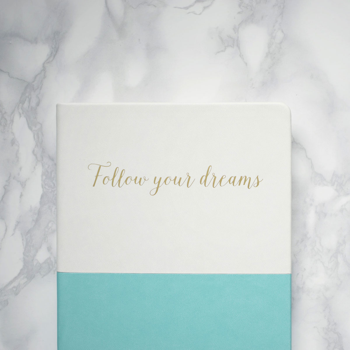 Five Little Things; A brain dump of all my thoughts - Follow your dreams leather notebook and happily ever after card from TK Maxx