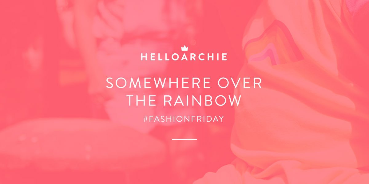 Fashion Friday // 025; He Talks To The Rainbows - featuring Next, Little Bird, Miss Selfridges and H&M