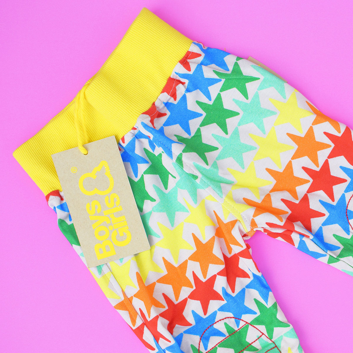 A Series of Awesome Things 01 - Boys&Girls star bright rainbow leggings from Remy Roo