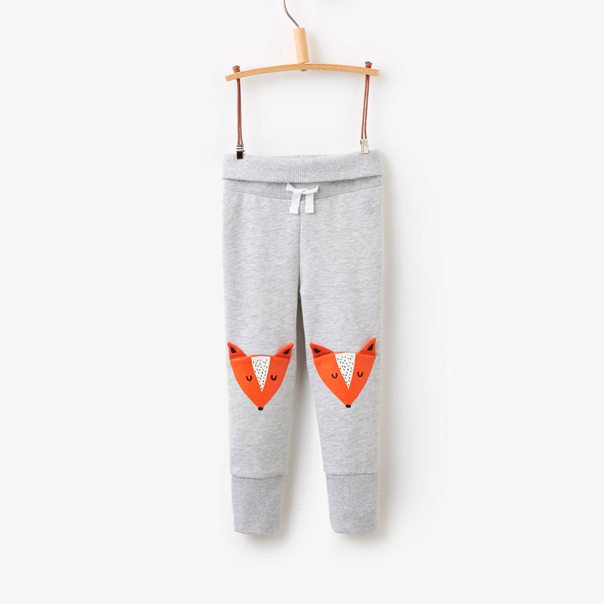 Grey fox leggings for babies by Joules