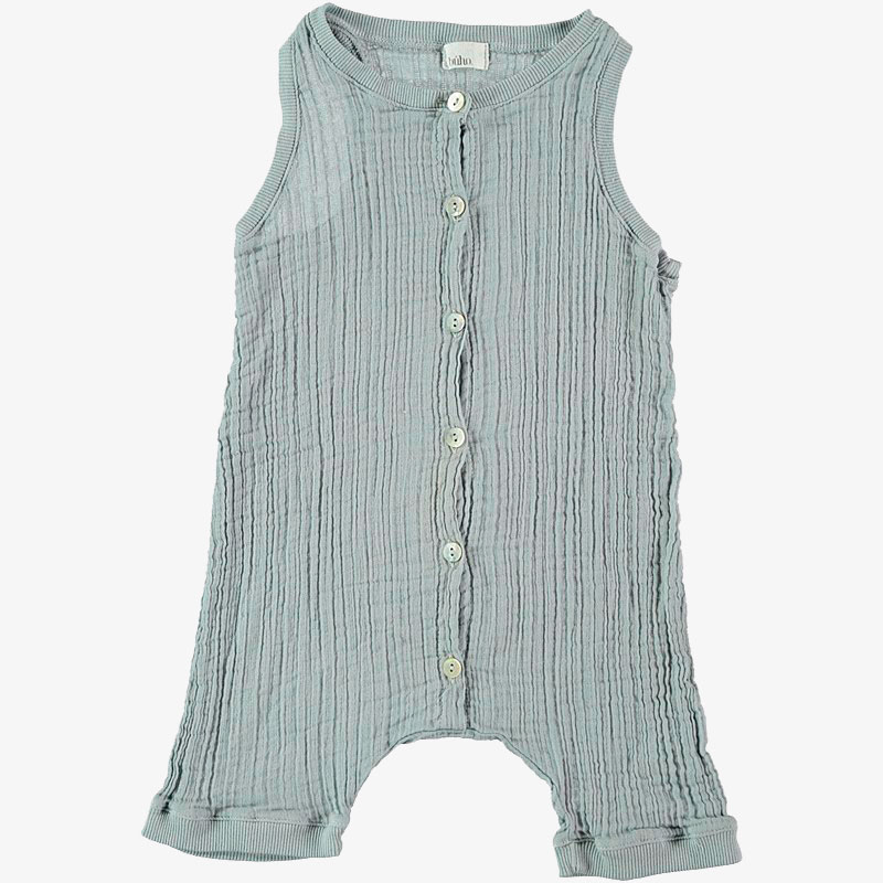 Grey mogli baby jumpsuit romper - baby boutique