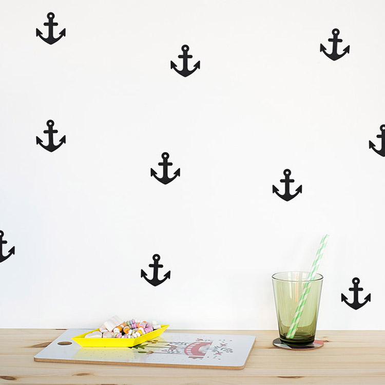 Young Folk Kids Interior Anchor Wall Decals