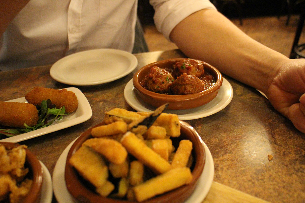 Review of Spanish Bar/Restaurant in Swindon, Old Town, Los Gatos