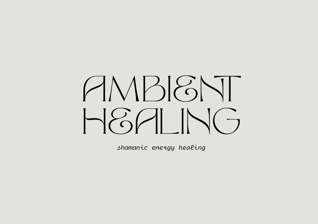 Ambient Healing, shamanic energy healing bringing a calm and balanced shakra to negate the stress of our daily lives and offering the tools we need to promote a positive state of mind