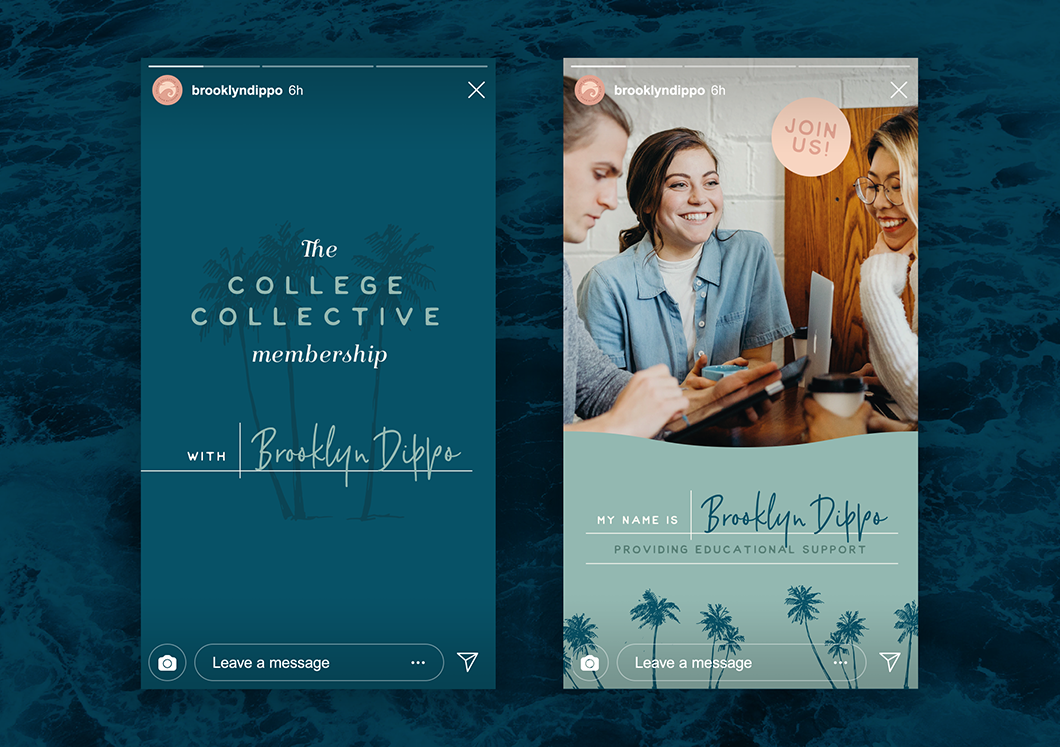 The College Collective membership gives students a step-by-step plan for applying to college with the support of a community full of other educational professionals and peers