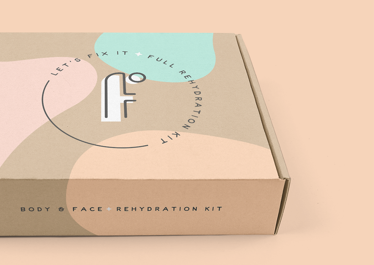 'face it' packaging design