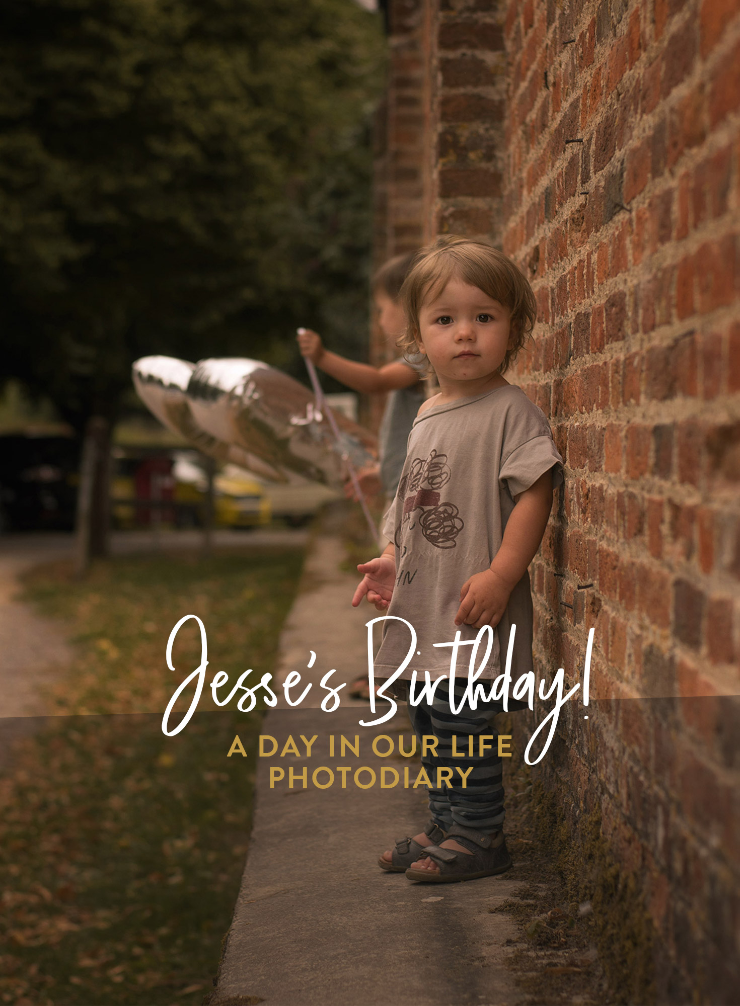 A photodiary of a very special day in the life; Jesse's second birthday and how we celebrated