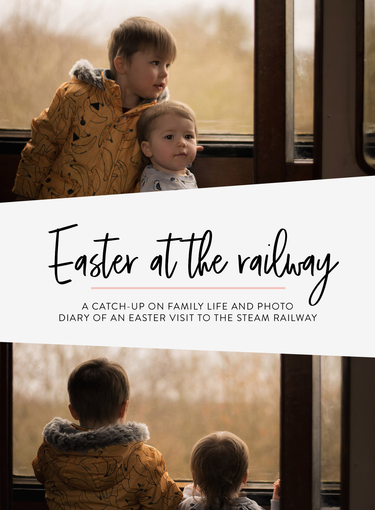 A catch-up on family life and a photo diary of our Easter visit to the Cricklade and Blunsdon steam railway, Wiltshire