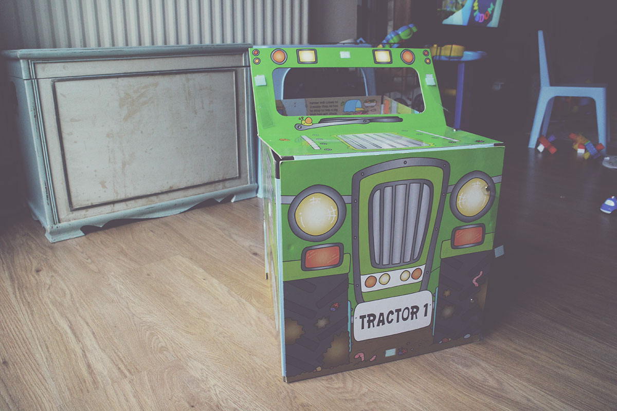 The Best Festive Books for Pre-Schoolers - Convertible Tractor Book and Playmat, Miles Kelly