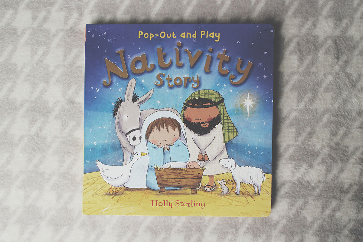 The Best Festive Books for Pre-Schoolers - Pop-out and Play Nativity by Holly Sterling, Egmont Publishing
