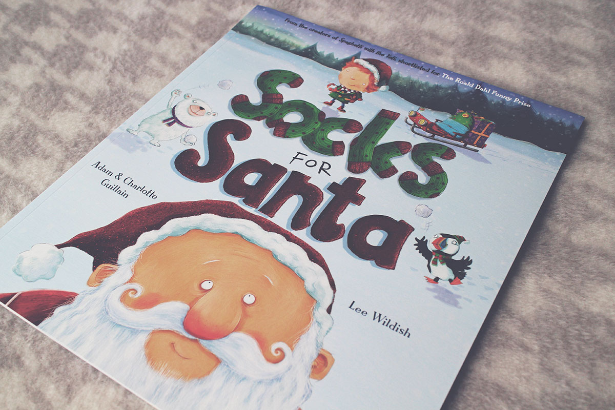 The Best Festive Books for Pre-Schoolers - Socks for Santa by Adam and Charlotte Guillain, Egmont Publishing