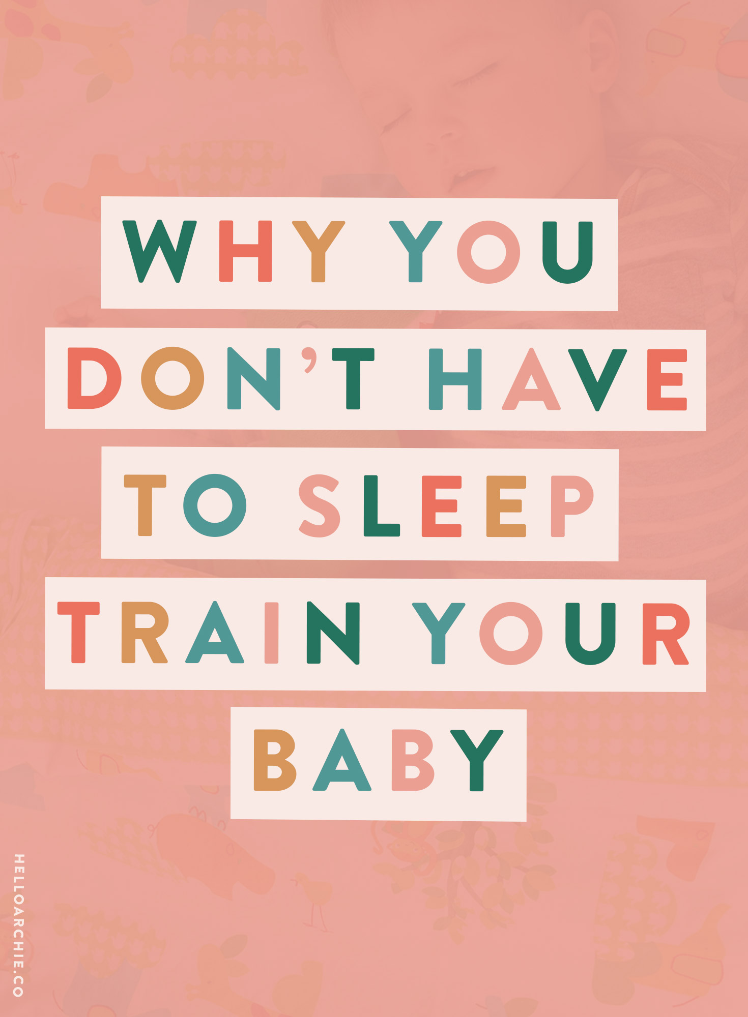 I relished the first 3 months because I didn't have to do anything other than cuddle and breastfeed and cuddle some more. I nursed on demand, I [safely] co-slept and I loved every single second. Why did that have to change?