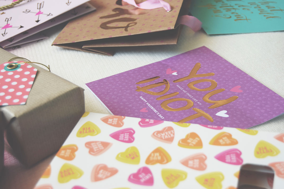 Valentines Day Gift-Wrap and Card Inspiration - Homesense UK, Marks & Spencer and ASDA