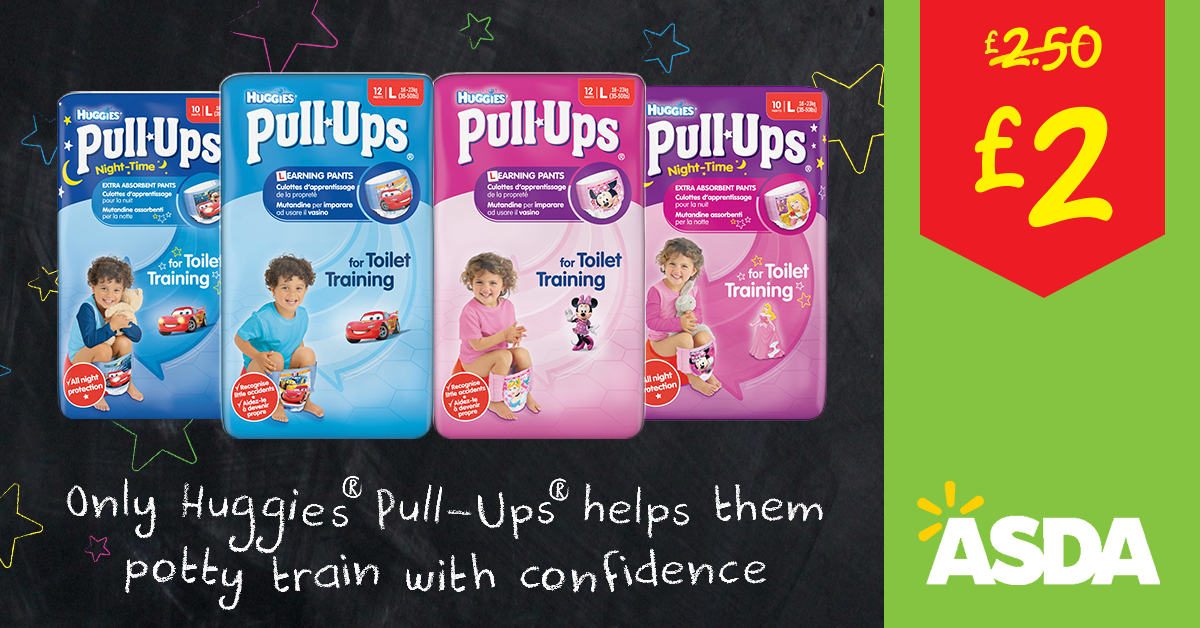 Official Huggies Pull-ups Ambassadors - 6 steps to potty training