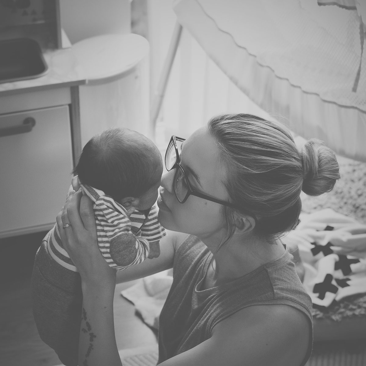 Our month in insta-snaps; August 2016 - Mummy and newborn baby son