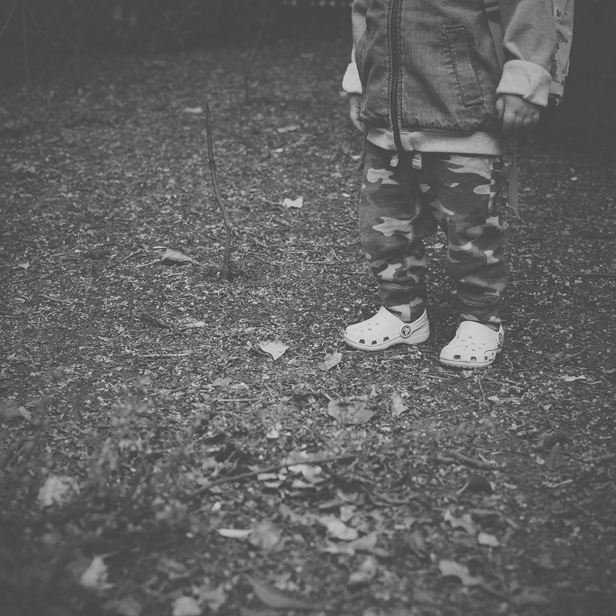 Our month in insta-snaps; May 2016 - Toddler standing in the park wearing his Crocs and adventurer backpack for a Fashion Friday OOTD