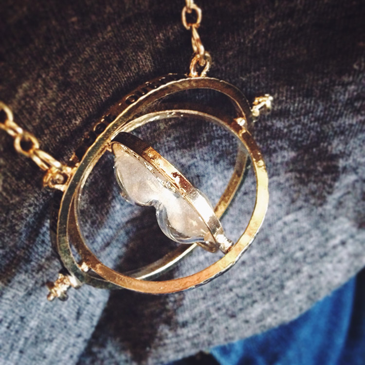 Time turner necklace from the Harry Potter movies