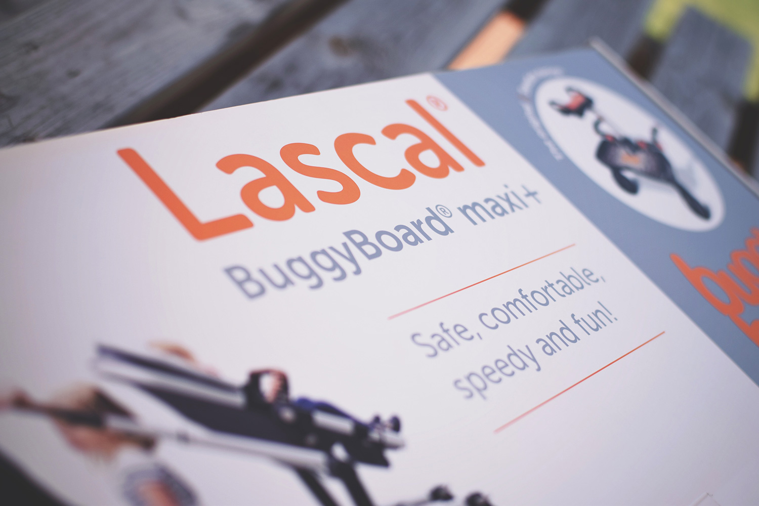 The Lascal BuggyBoard Maxi+ - The alternative to a double buggy for Mums with a newborn baby and toddler/preschooler