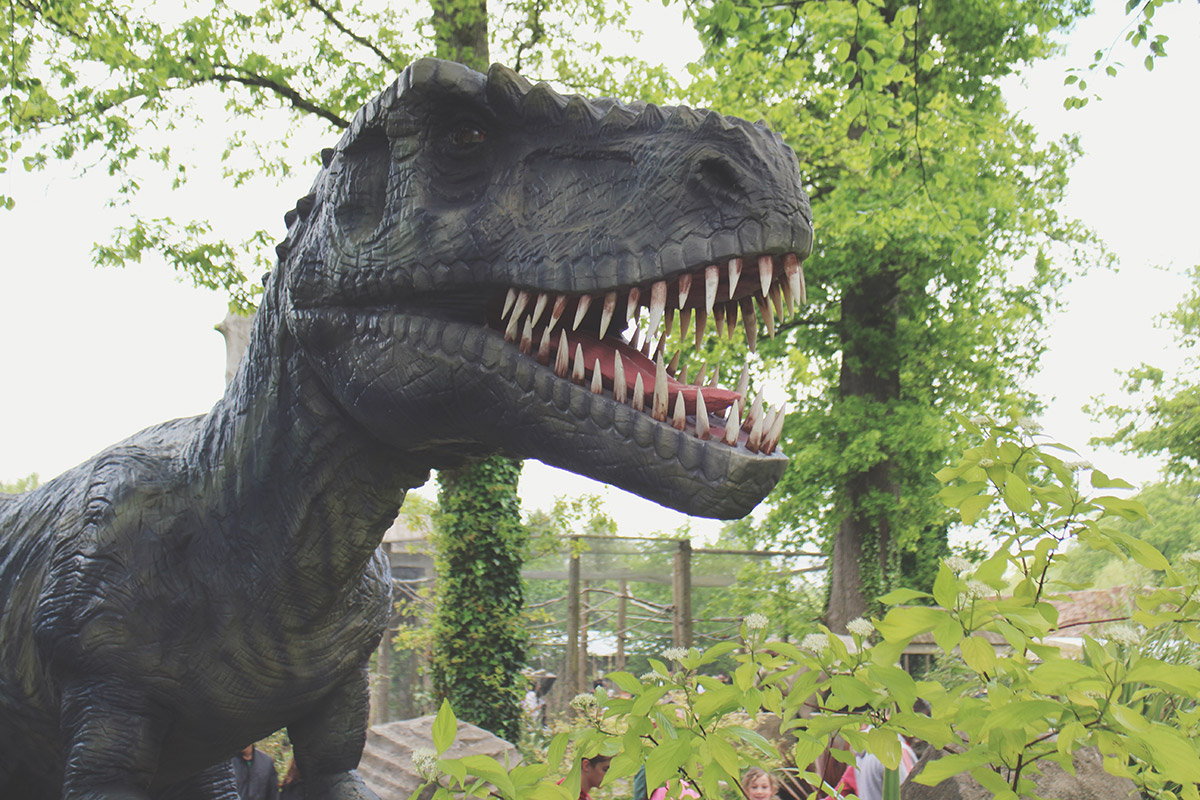 Toddlers' Day Out - Longleat Safari & Adventure Park; Dinosaurs Alive