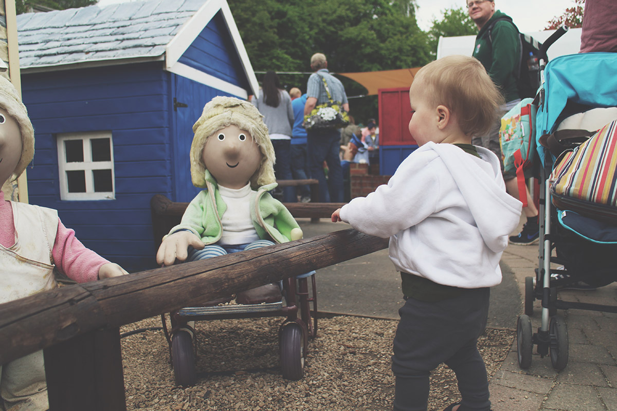 Toddlers' Day Out - Longleat Safari & Adventure Park; Postman Pat's Village