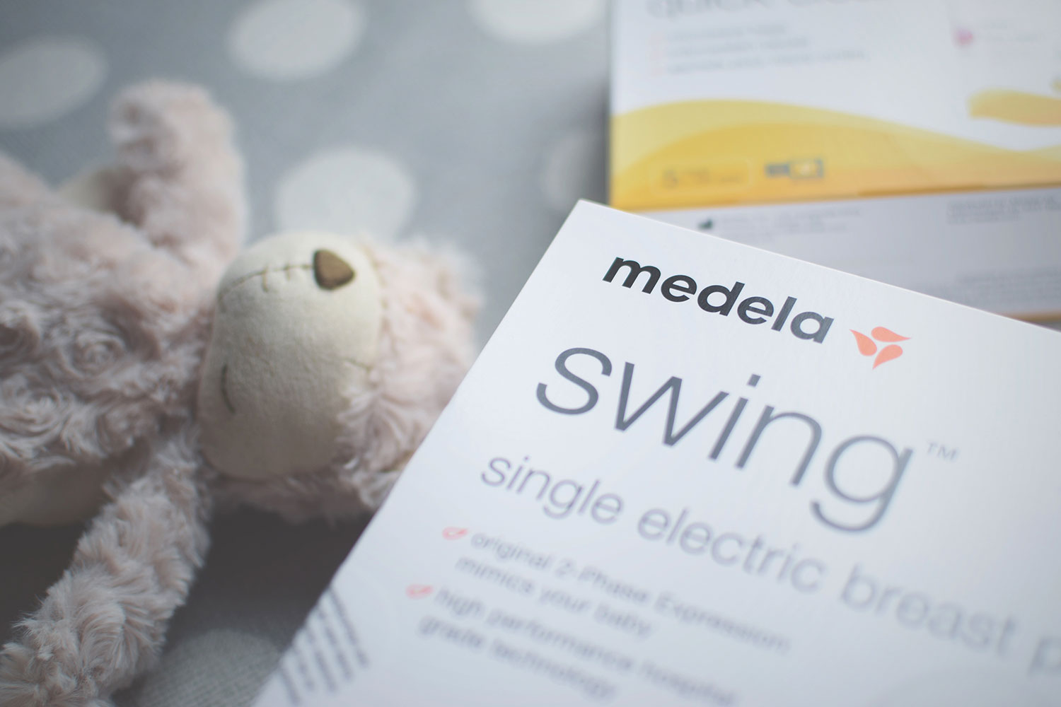 Mama's Boobies review.. the Medela Swing Breast Pump — The Swing breast pump is Medela's smallest and lightest 2-Phase pump