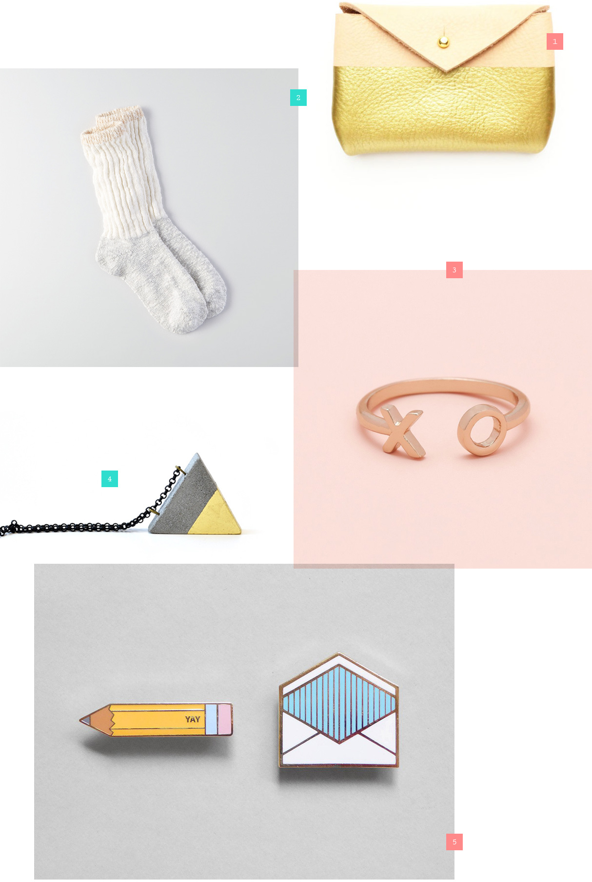 Sickly Sweet Stocking Fillers for Awesome Momma's - Small gifts for Mums from ban.do, Brika, Present & Correct, American Eagle Outfitters, Sugarfina, Happy Mail; Chocolate, stationery, cosy lounge socks, sweets, candy, enamel pins etc.