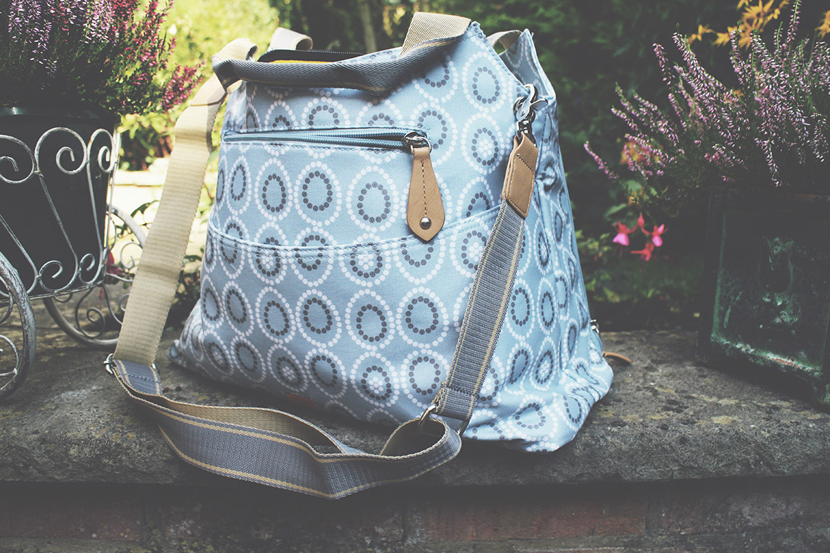 The PacaPod Napier Changing Bag in Moonstone by PramWorld