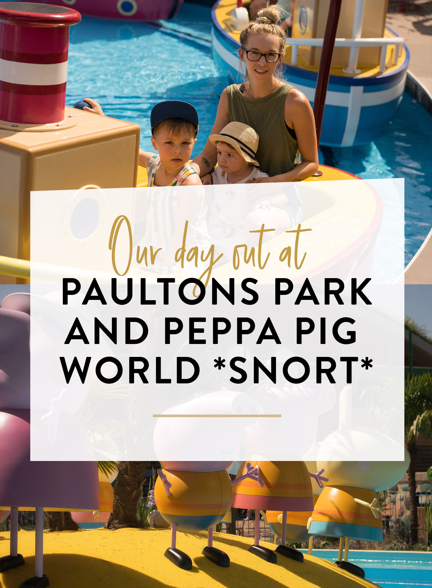 Our family day out to Paultons Park and Peppa Pig world