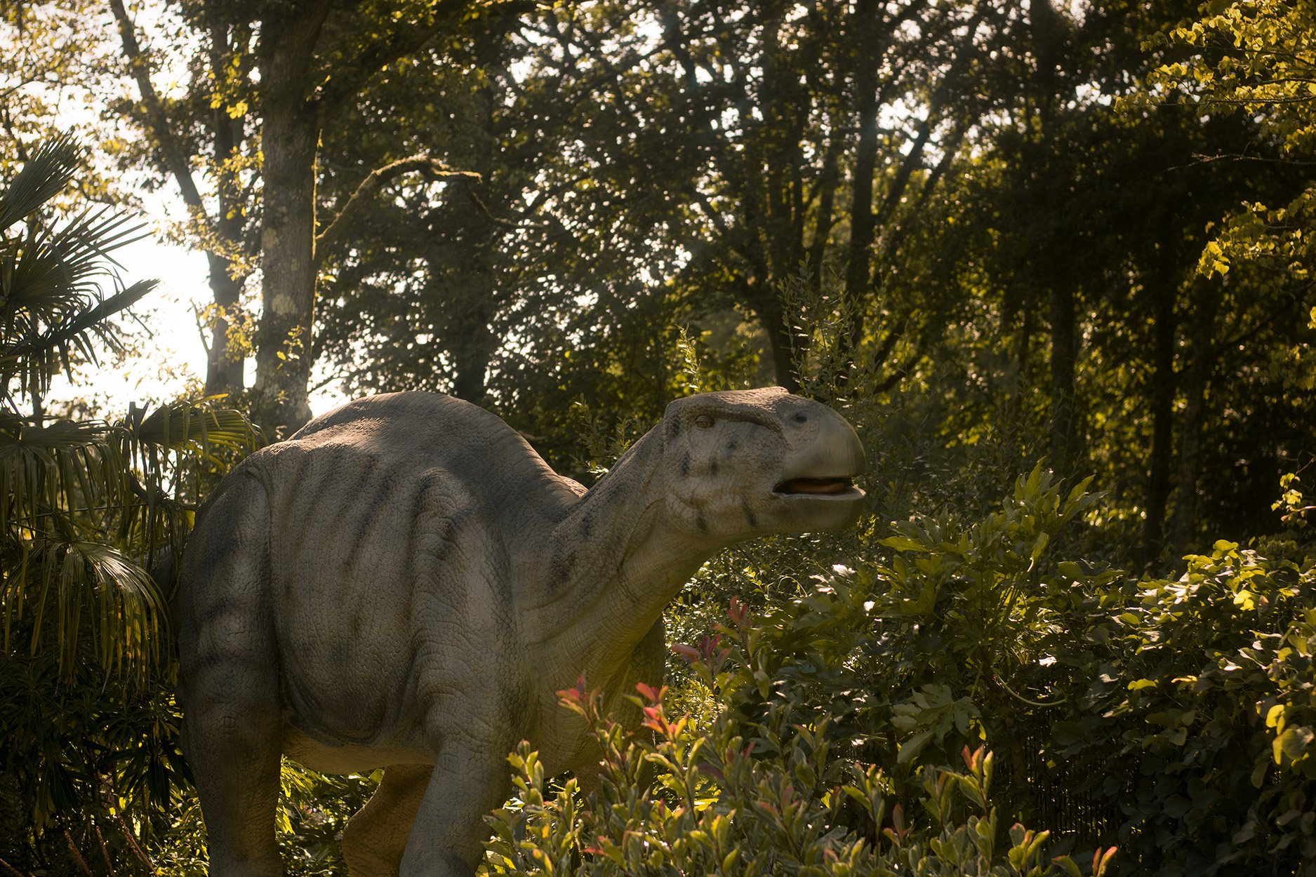 The Lost Kingdom dinosaurs - A family day out to Peppa Pig World and the Lost Kingdom at Paultons Park, Hampshire