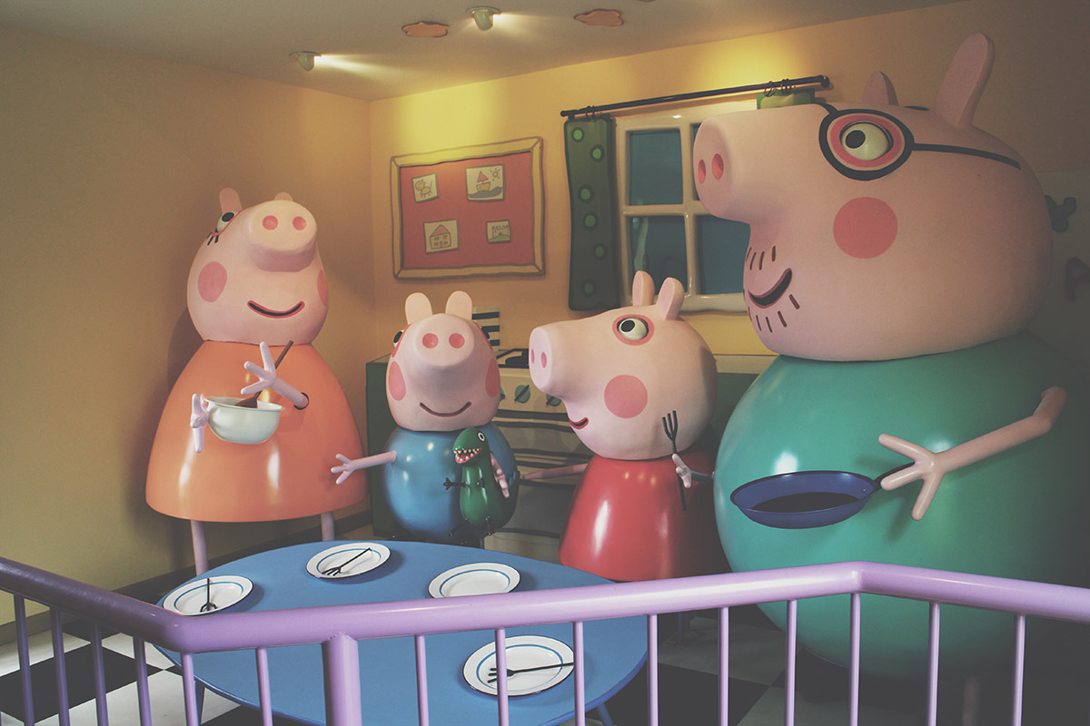 The Ultimate Toddlers Day Out at Peppa Pig World - Peppa Pig's House