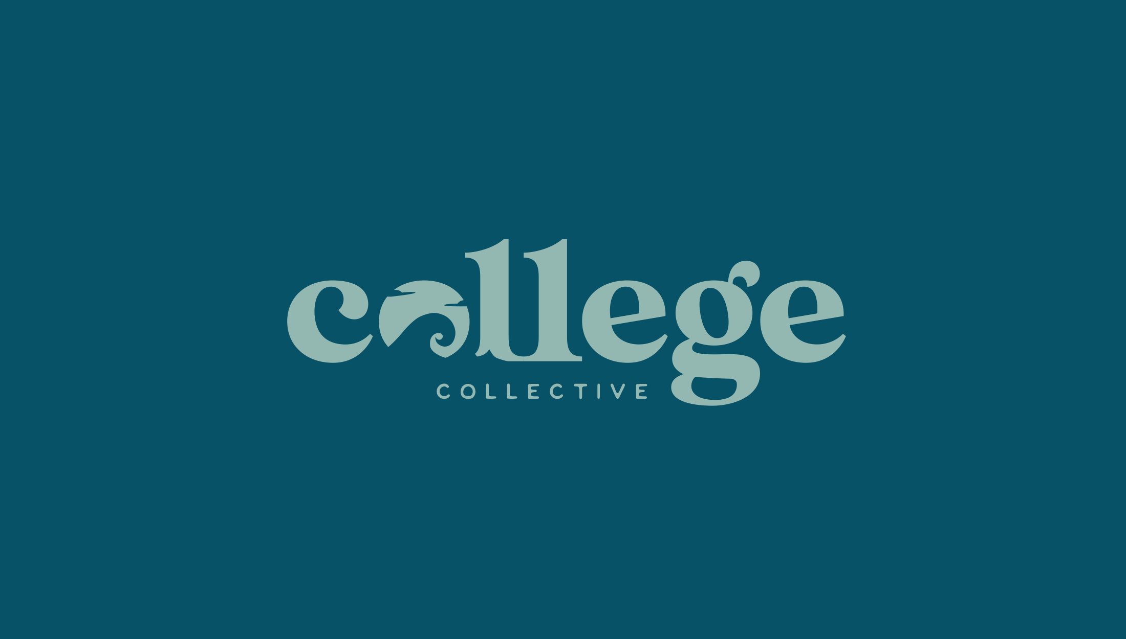 Logo design for College Collective, The College Collective membership gives students a step-by-step plan for applying to college with the support of a community full of other educational professionals and peers - designed by Wiltshire-based graphic designer, Kaye Huett