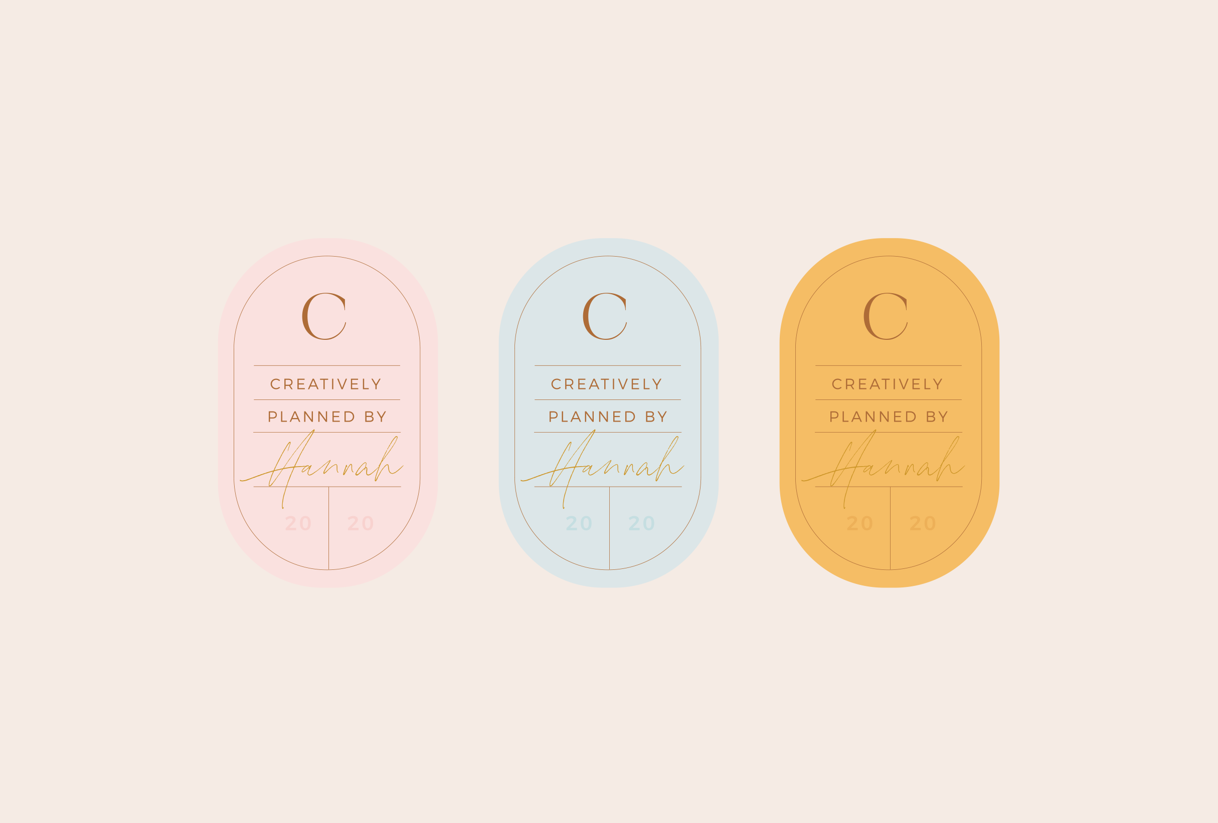 Sticker design pattern for Creative Plan, providing paperless planning products with an analogue feel - designed by Wiltshire-based graphic designer, Kaye Huett