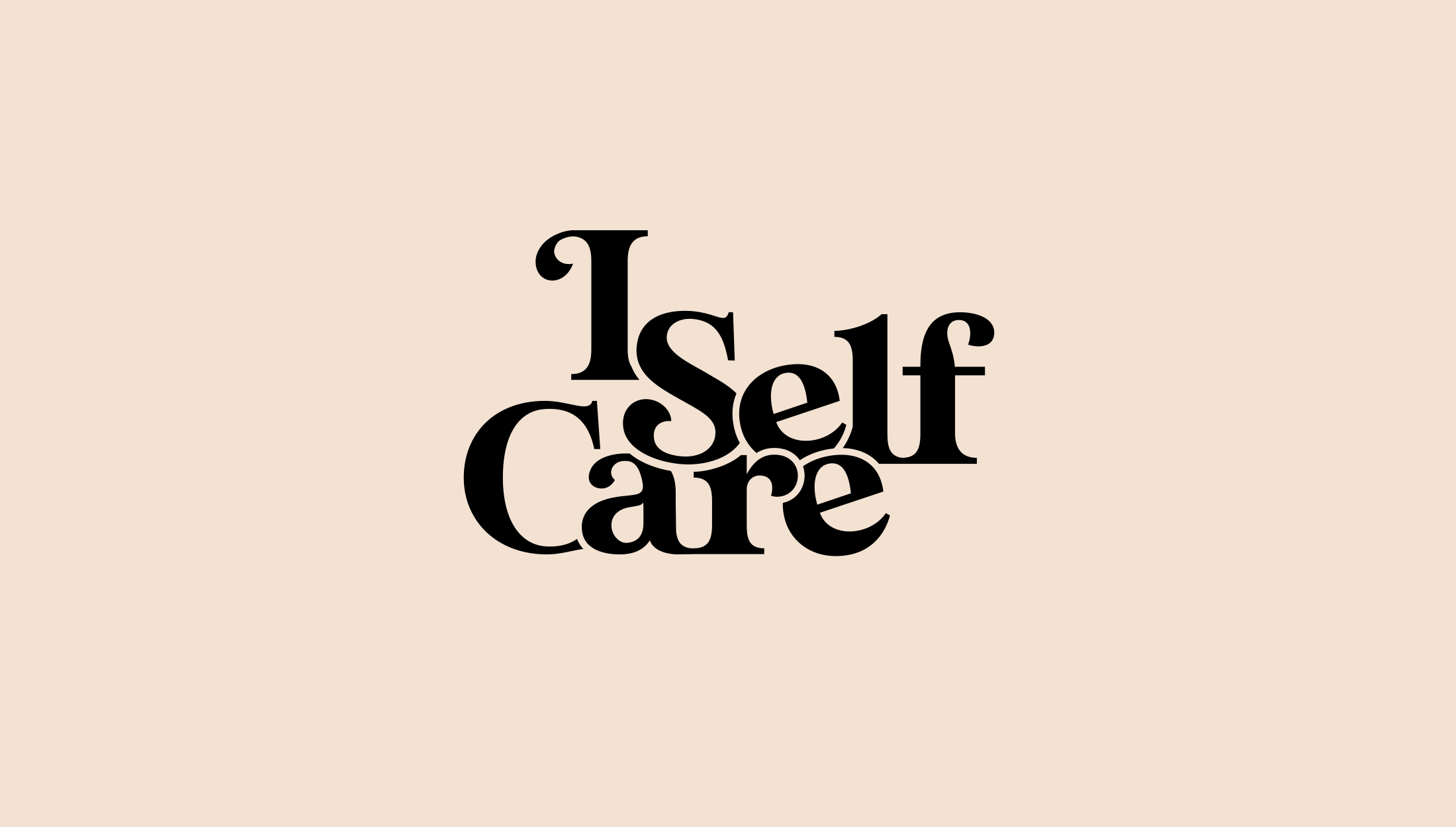 Logo design for I Self Care, a body care and home wear line focused on selling candles and soaps that are non-toxic and derived from plants - designed by Wiltshire-based graphic designer, Kaye Huett
