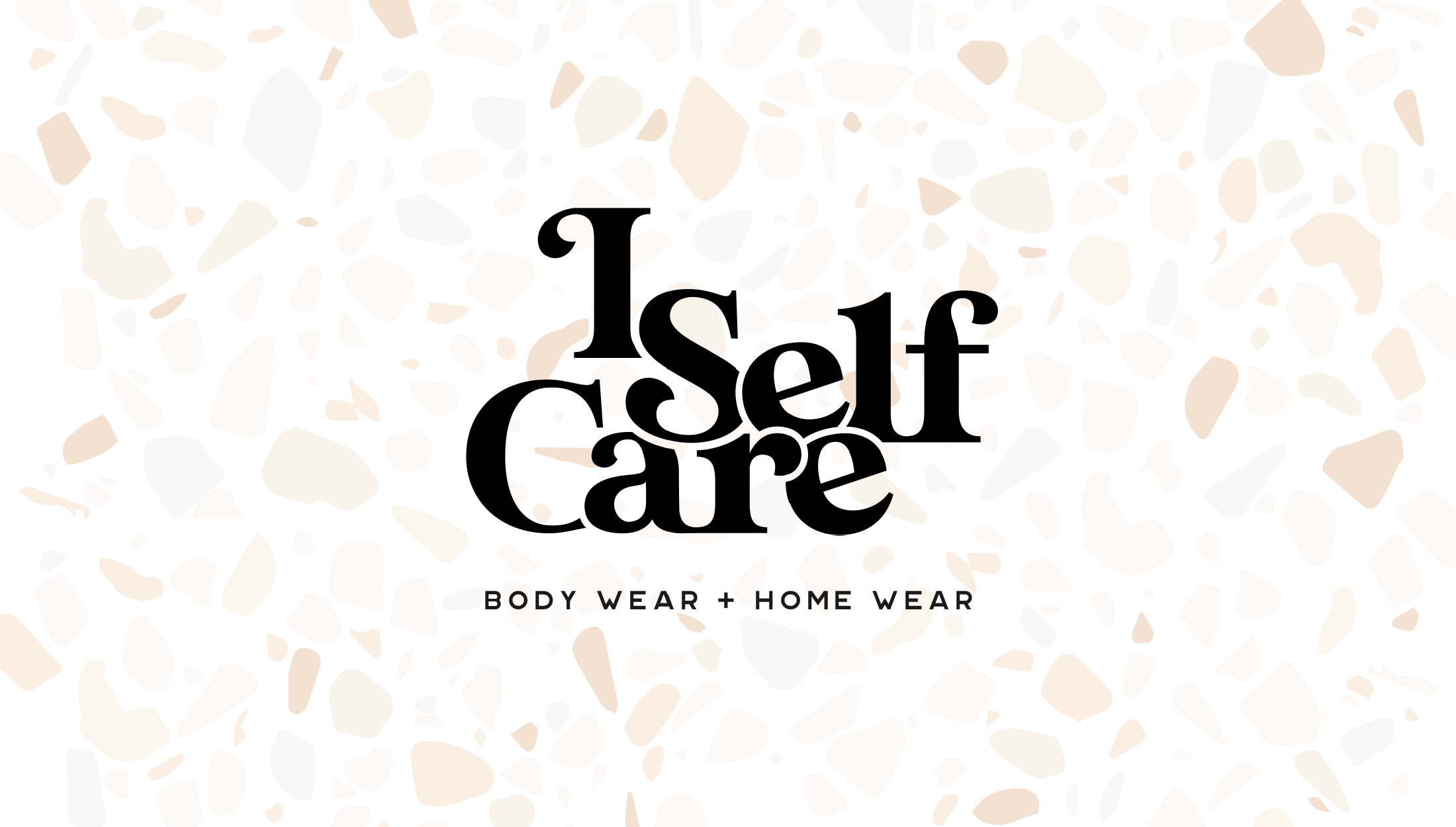 Final logo design for I Self Care, a body care and home wear line focused on selling candles and soaps that are non-toxic and derived from plants - designed by Wiltshire-based graphic designer, Kaye Huett