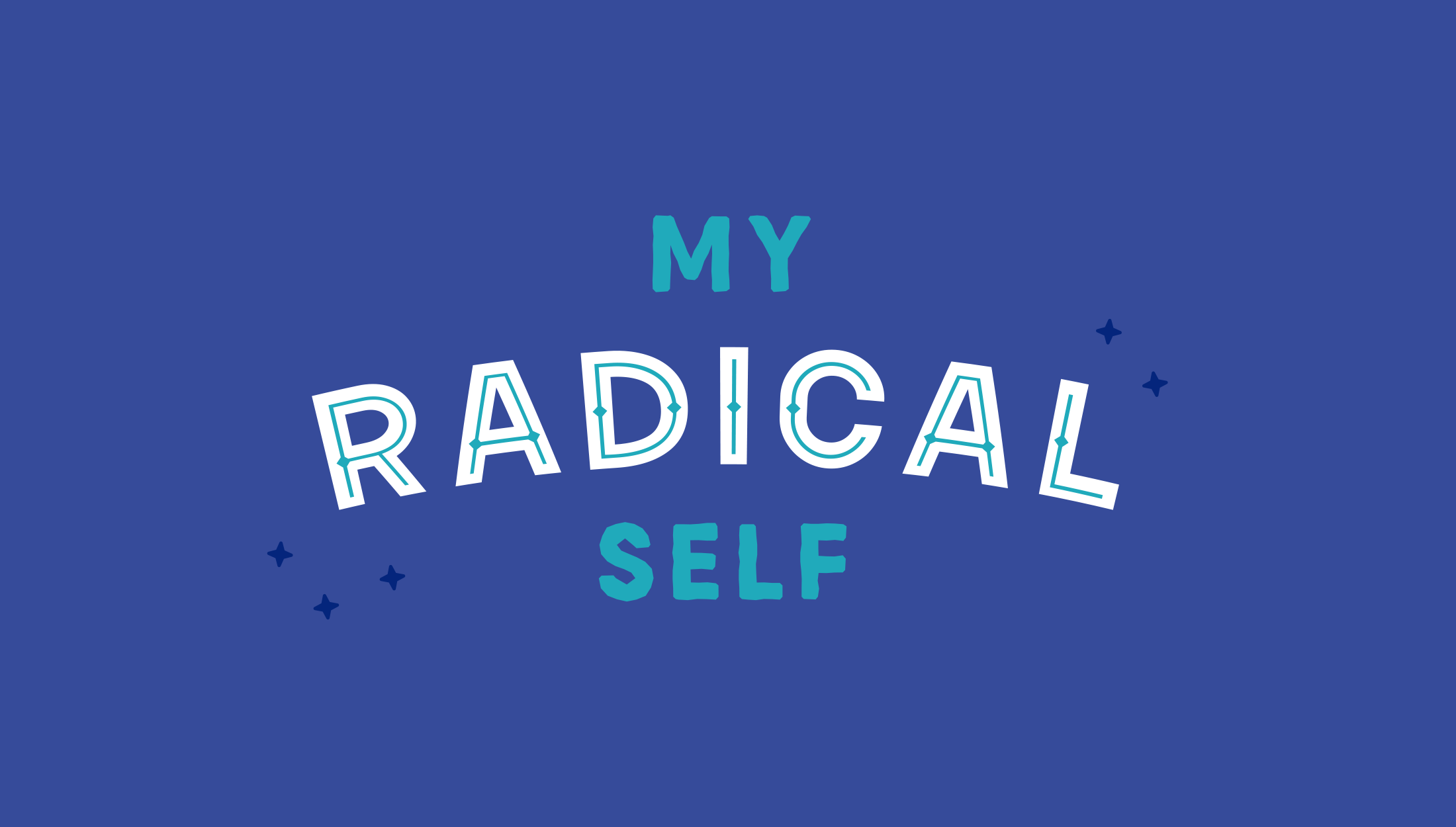 Final logo design for My Radical Self, an online community and blog for women focusing on self-love, feminism and mindfulness - designed by Wiltshire-based graphic designer, Kaye Huett
