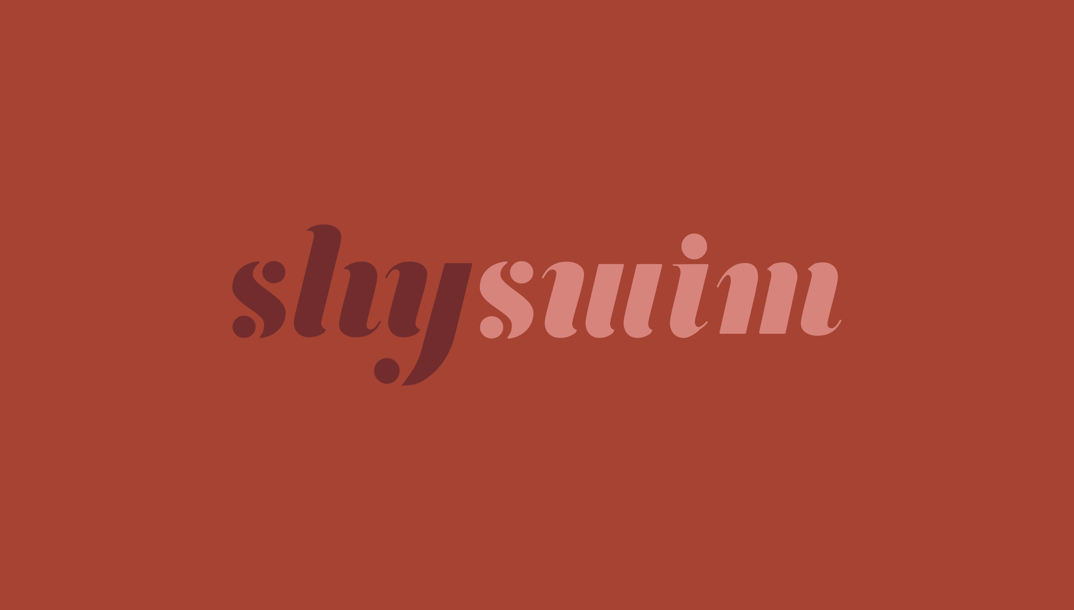 Logo design for Shy Swim, a luxury swimwear line bringing bespoke and luxurious costumes to women - designed by Wiltshire-based graphic designer, Kaye Huett