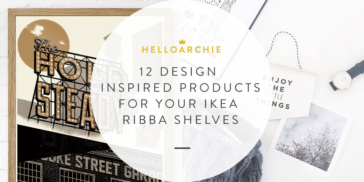 12 Design-Inspired Products For Your Ikea Ribba Shelves