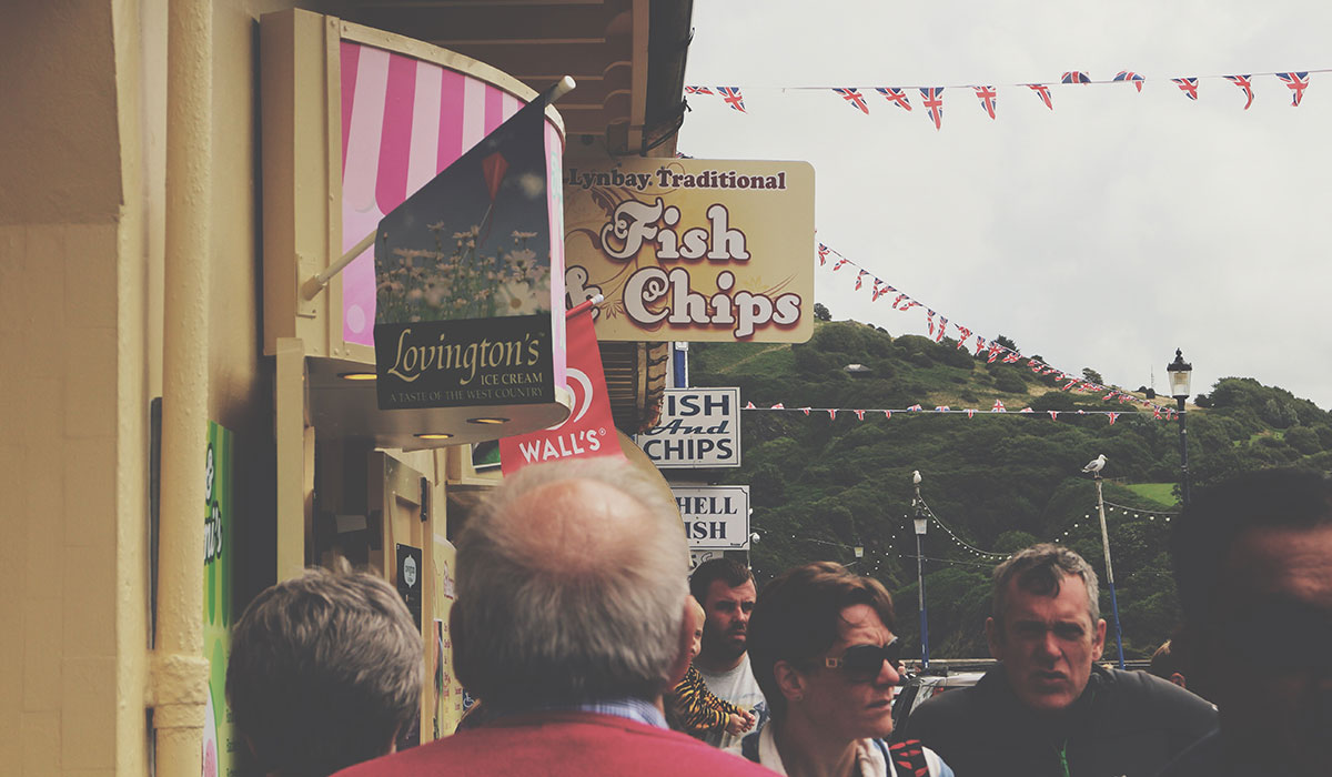 10 Things That Will Undoubtedly Happen on Your Family Staycation - A number of Fish & Chip shops along Ilfracombe Harbour