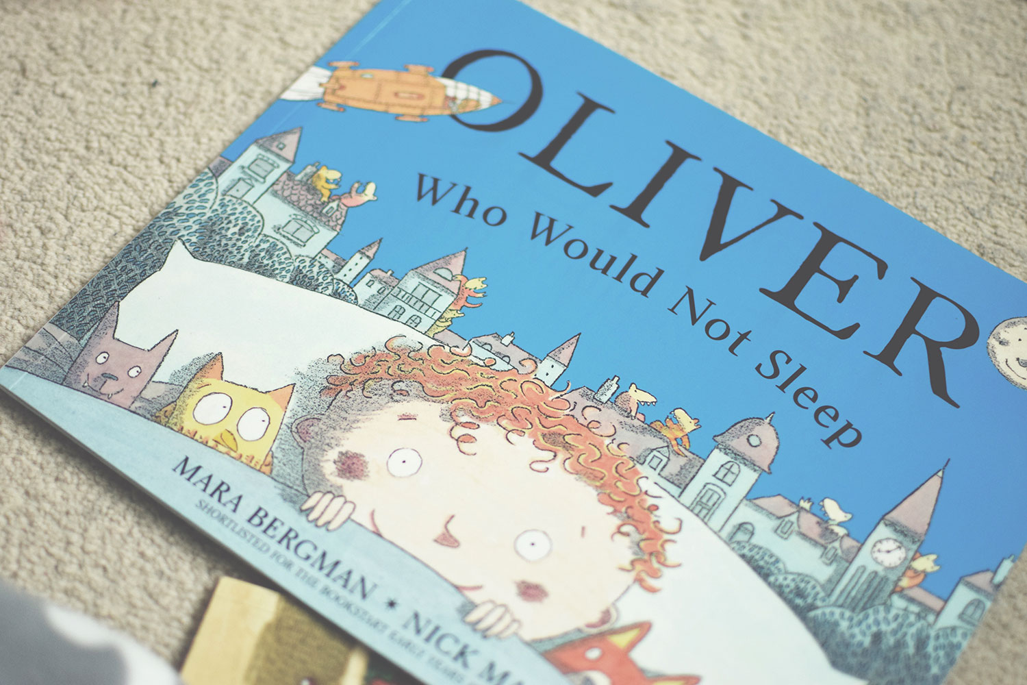 The Books You HAVE to Buy Your Toddler - Oliver Who Would Not Sleep by Mara Bergman