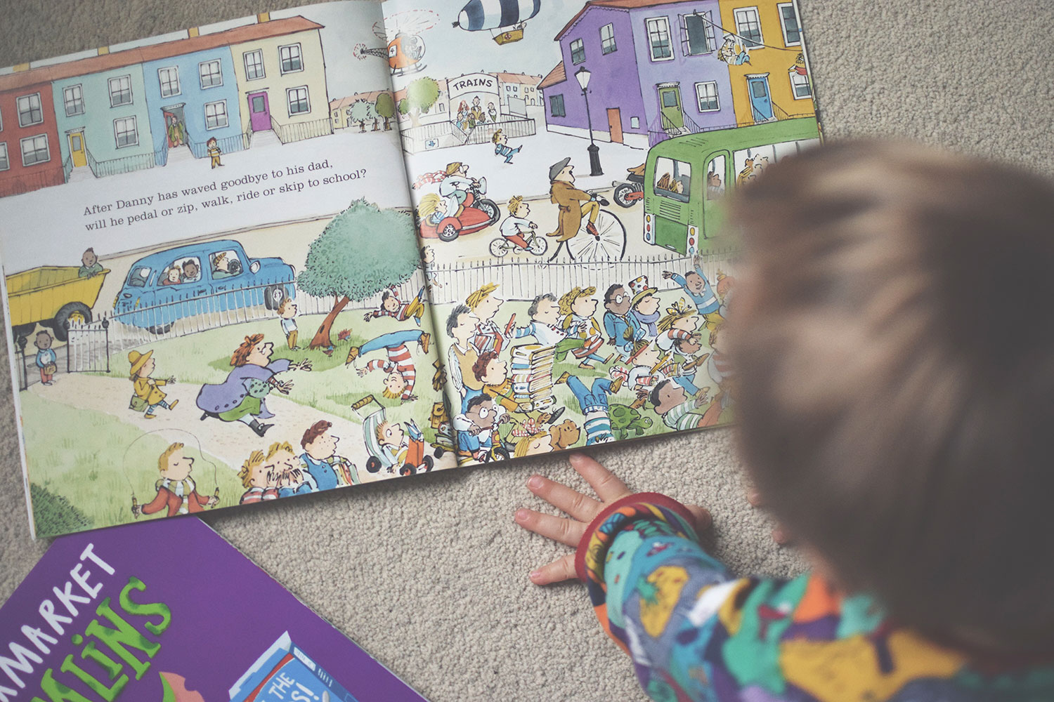 The Books You HAVE to Buy Your Toddler - What Will Danny Do Today? by Pippa Goodhart, Egmont Publishing