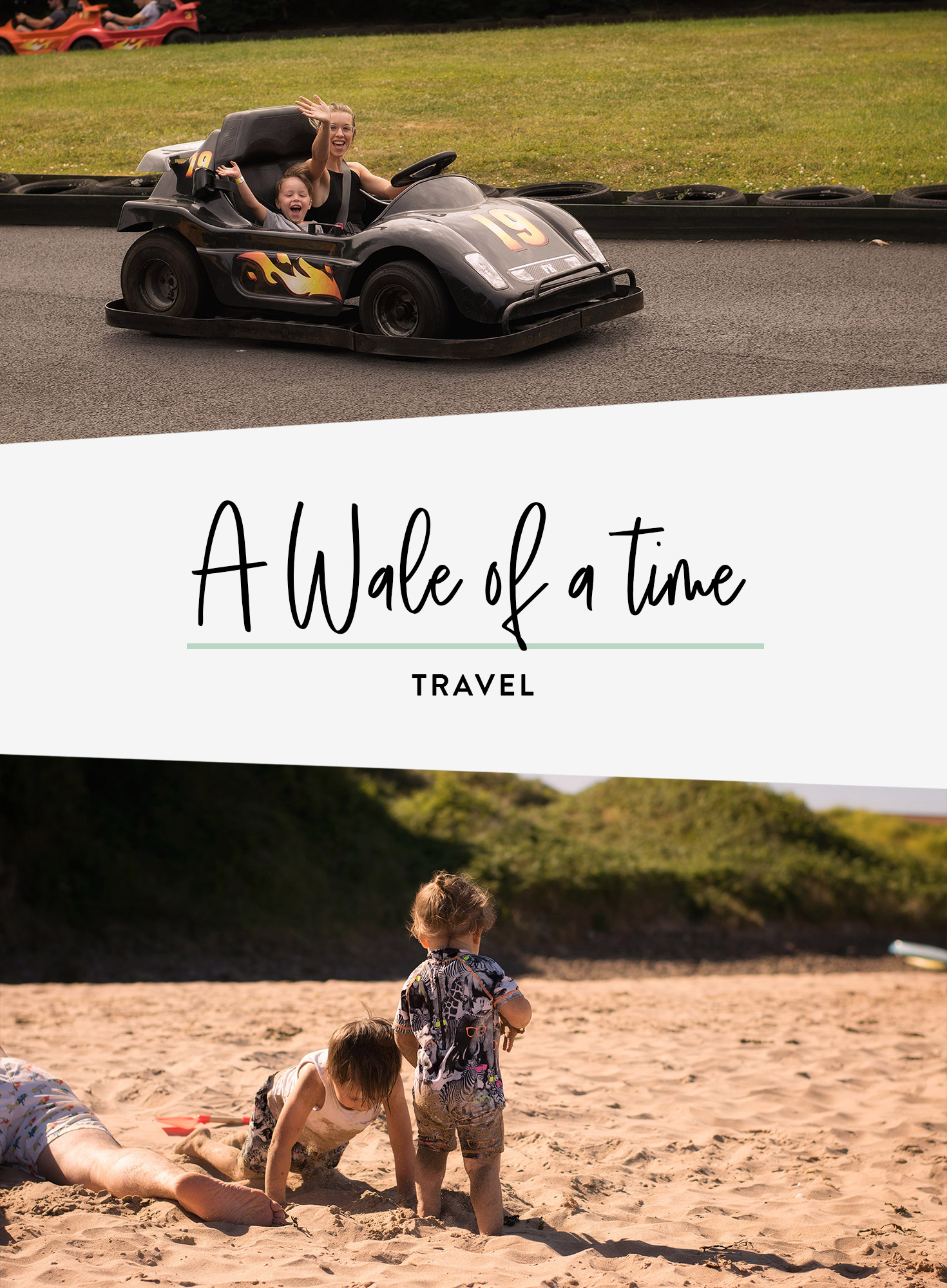 A family holiday to Freshwater East, Pembrokshire, with days out to Folly Farm, Colby Woodland Garden and Tredegar House