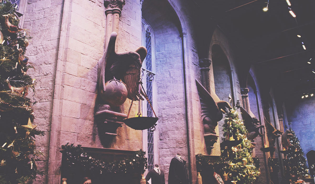 Warner Bros Studio Tour - Hogwarts in the Snow