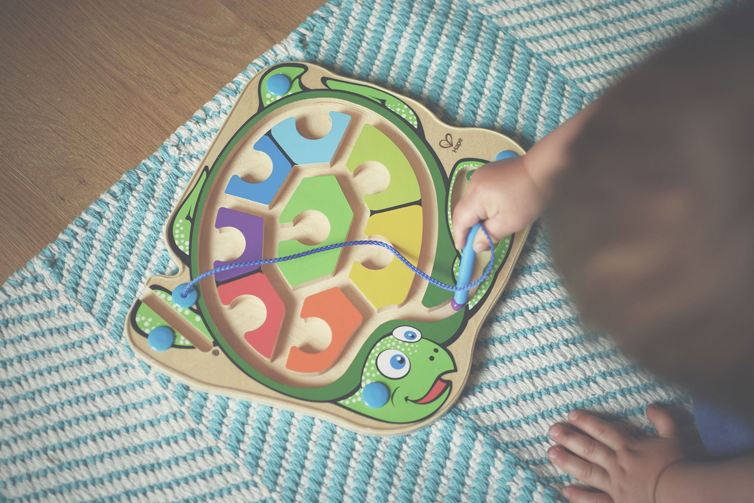 Wicked Uncle; The laziest way to buy awesome gifts - Online toy store selling high-quality toys and gifts for children, Hape wooden sea turtle magnetic maze